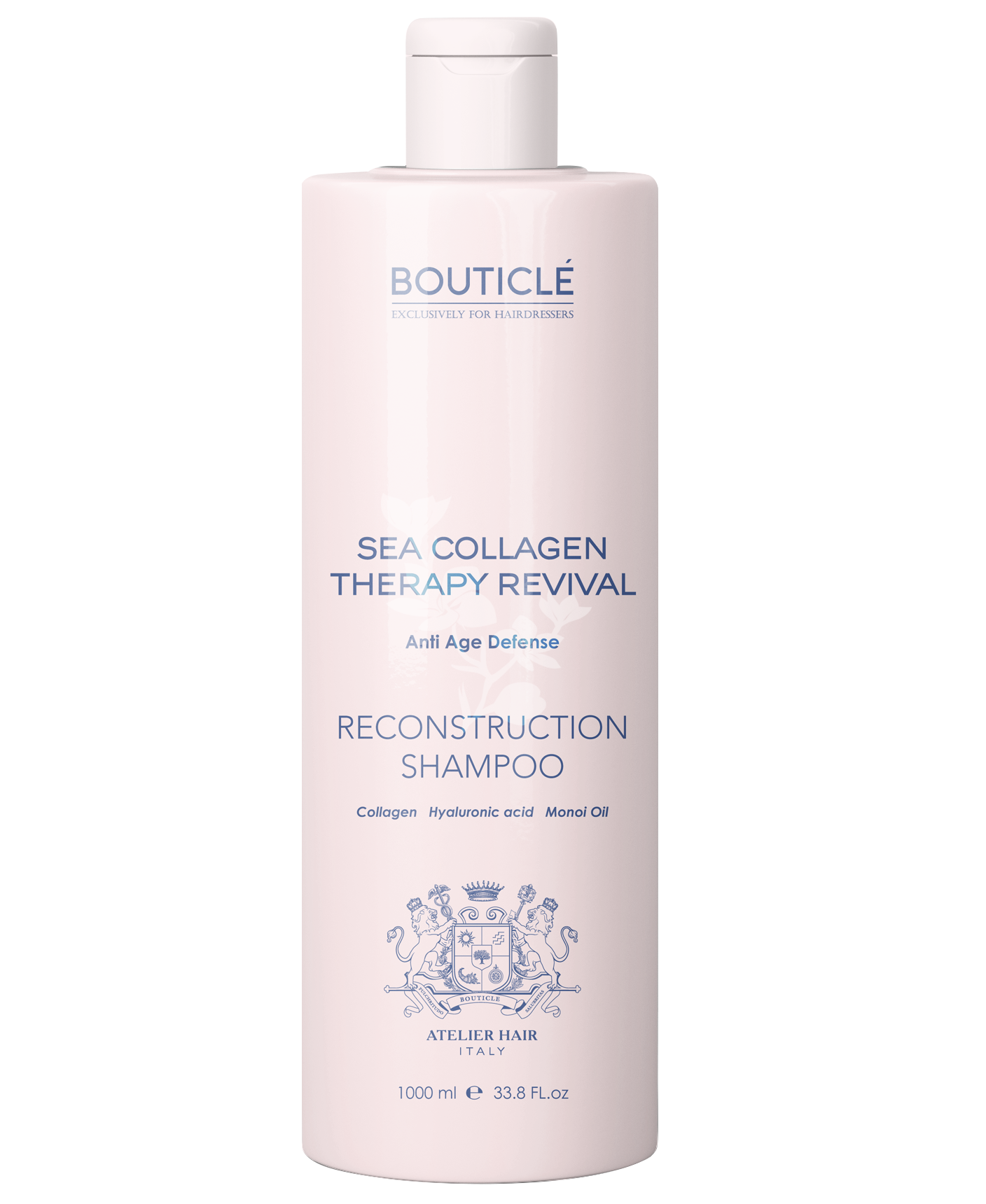 Bouticle Шампунь Коллагеновый Восстанавливающий – Reconstruction Shampoo, 1000 мл