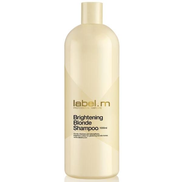 цена на Label.m Шампунь Brightening Blonde Shampoo Осветляющий для Блондинок, 1000 мл