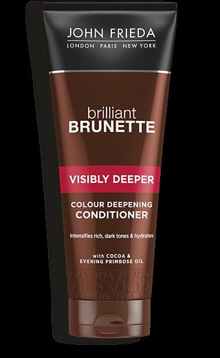 John Frieda Кондиционер для Создания Насыщенного Оттенка Темных Волос Brilliant Brunette Visibly Deeper, 250 мл недорого