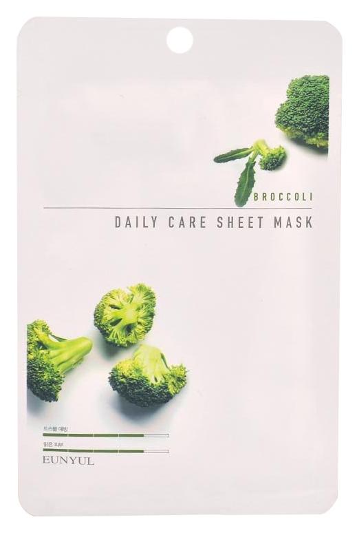 Eunyul Тканевая Маска для Лица с Экстрактом Брокколи Broccoli Daily Care Sheet Mask, 22г