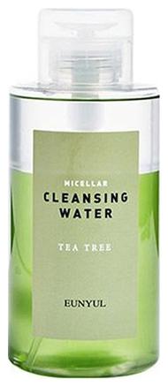 Eunyul Мицеллярная Очищающая Двухфазная Вода c Чайным Деревом Micellar Cleansing Water Tea Tree, 500 мл