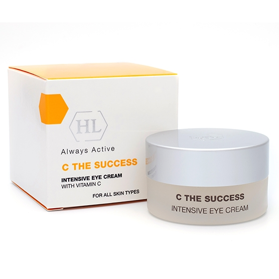 Holy Land Крем C The Success Intensive Eye Cream With Vitamin C Интенсивный для Век, 15 мл holy land c the success intensive day cream with vitamin c интенсивный дневной крем 50 мл