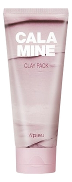 A'Pieu Маска Calamine Clay Pack для Лица Глиняная, 100 мл a pieu маска пенка глиняная phytoncide clay pack to foam 100 г