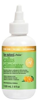 Be Natural Средство для Удаления Натоптышей с Запахом Апельсина Callus Eliminator Orange, 120г цены онлайн