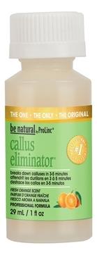 Be Natural Средство для Удаления Натоптышей с Запахом Апельсина Callus Eliminator Orange, 30г цены онлайн