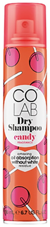 Colab Сухой Шампунь Candy, 200 мл недорого