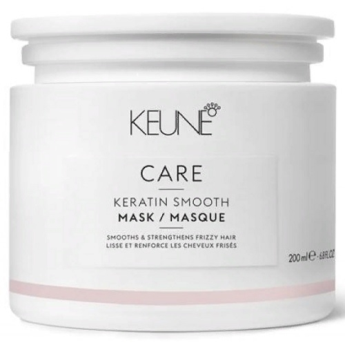 Keune Маска Care Keratin Smooth Mask Кератиновый Комплекс, 200 мл