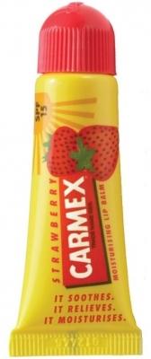 Carmex Бальзам для Губ Carmex с ароматом клубники (туба), 10 гр мятный бальзам для губ carmex