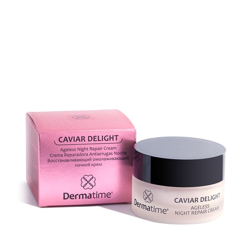Dermatime Крем Ночной Омолаживающий  Caviar Delight, 50 мл
