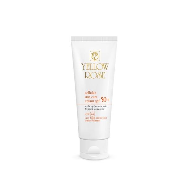 Yellow Rose Крем Cellular Sun Care CreamSPF50+ Солнцезащитный с Фитостволовыми Клетками, 50 мл
