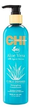 CHI Кондиционер для Облегчения Расчесывания Aloe Vera with Agave Nectar, 340 мл