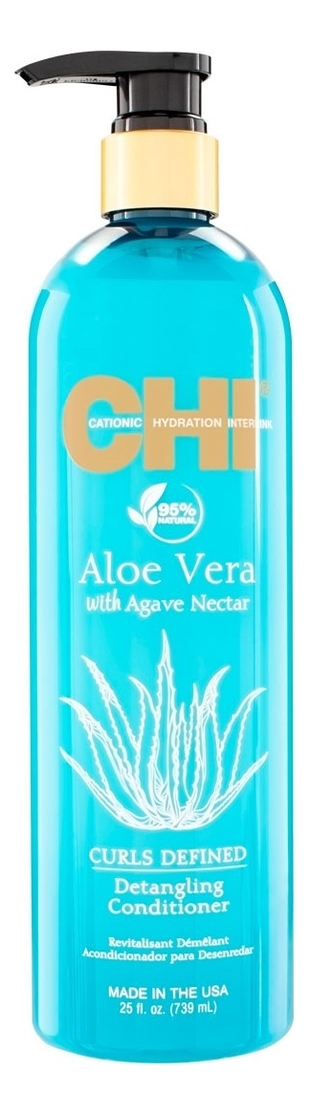 CHI Кондиционер для Облегчения Расчесывания Aloe Vera with Agave Nectar, 710 мл