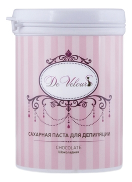 De Velours Паста Chocolate Сахарная для Депиляции Шугаринг - Шоколадная, 330г