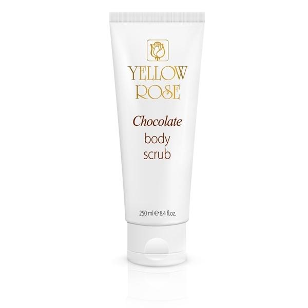 Yellow Rose Скраб Chocolate Body Scrub Шоколадный для Тела, 250 мл натуральный скраб