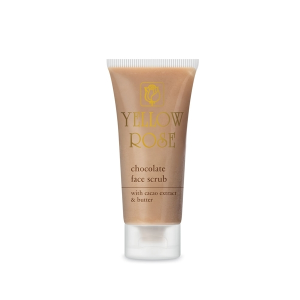 Yellow Rose Скраб Chocolate Face Scrub Шоколадный для Лица, 50 мл sesderma скраб mandelac scrub face and body для лица и тела 50 мл