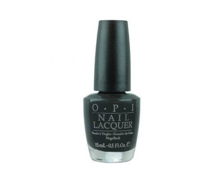 OPI Лак Classic NLT02-EU Nail Lacquer  Lady in black для Ногтей, 15 мл opi лак classic nlf62 in the cable car pool lane для ногтей 15 мл