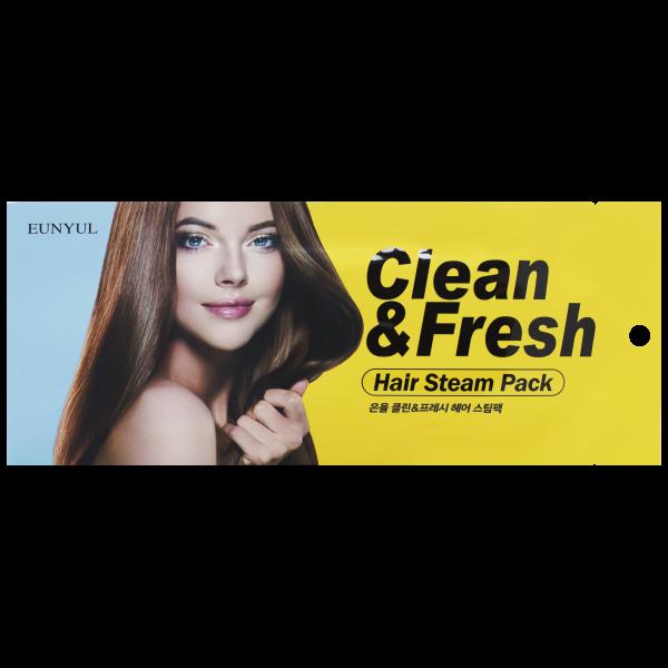 Eunyul Маска для Волос Clean & Fresh Hair Steam Pack, 40г