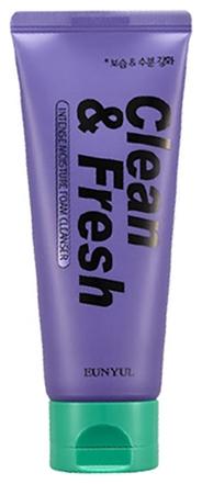Eunyul Очищающая Увлажняющая Пенка Clean & Fresh Intense Moisture Foam Cleanser, 150 мл
