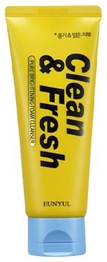 Eunyul Очищающая Пенка для Сияния Кожи Clean & Fresh Pure Brightening Foam Cleanser, 150 мл christina fresh pure natural cleanser отзывы