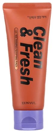 Eunyul Маска Ночная для Повышения Упругости Кожи Clean & Fresh Ultra Firming Sleeping Pack, 120 мл eunyul маска ночная для сужения пор clean