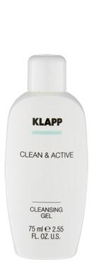 Klapp Гель Cleansing Gel Очищающий, 75 мл