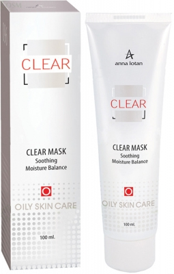 Anna Lotan Маска Clear Mask Балансирующая Увлажняющая, 100 мл