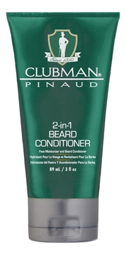 Clubman Кондиционер Clubman 2-in-1 Beard Conditioner для Бороды 2 в 1, 89 мл кондиционер для бороды