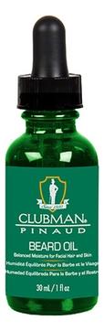 Clubman Масло Beard Oil для Бороды, 30 мл