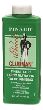 Clubman Тальк Finest Powder Ultra-Fin Супер-Легкий Белый, 255г