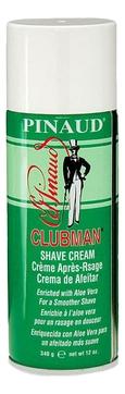 Clubman Пена Shave Cream Классическая для Бритья с Алоэ Вера, 340г