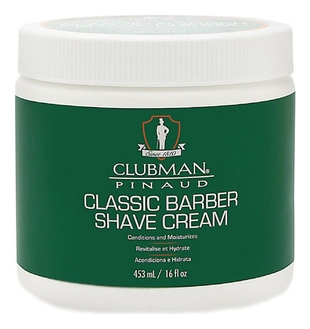 Clubman Крем Shave Cream Классический Универсальный для Бритья, 453 мл