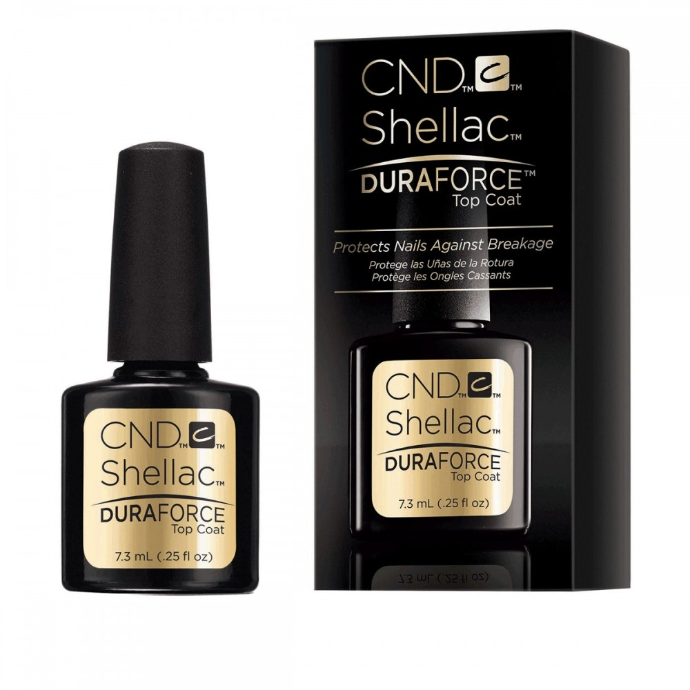 CND Покрытие Shellac Duraforce Top Coat Верхнее, 7,3 мл