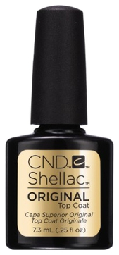 CND Покрытие Shellac UV Original Top Coat Верхнее, 7,3 мл
