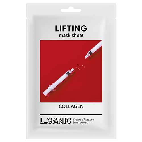 L.Sanic Маска Collagen Lifting Mask Sheet Коллагеновая Тканевая с Эффектом Лифтинга, 25 мл moistfull collagen