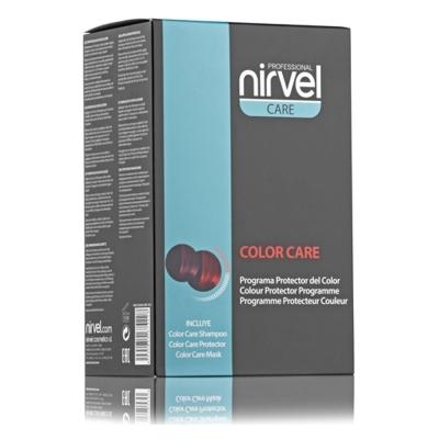 Фото - Nirvel Professional Набор Color Care Pack для Защиты Цвета, 250 мл+25 мл+150 мл nirvel корректор косметического цвета кислая смывка color out 2х125 мл