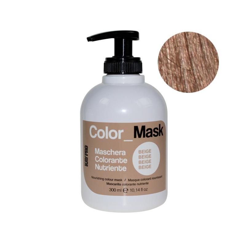 KAYPRO Маска Color Mask Питающая Оживляющая Бежевая, 300 мл kaypro маска color mask питающая оживляющая карамель 300 мл