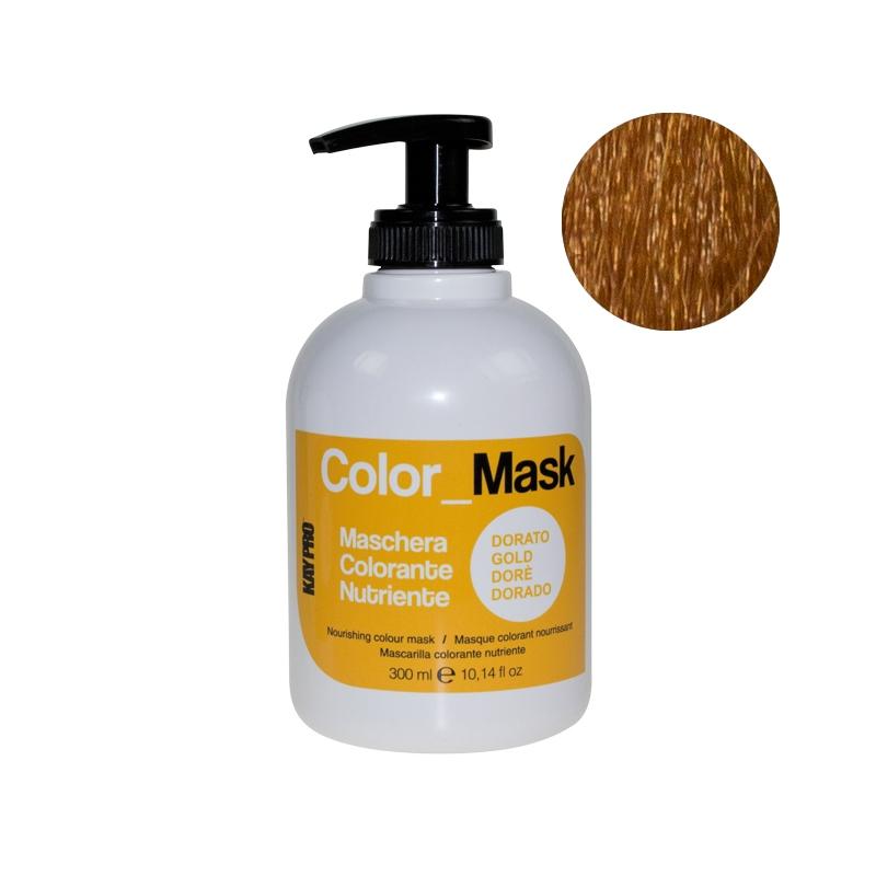 KAYPRO Маска Color Mask Питающая Оживляющая Золото, 300 мл kaypro маска color mask питающая оживляющая карамель 300 мл