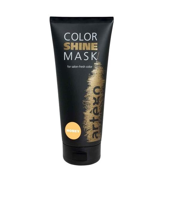Artego Маска для Тонирования Мед Color Shine Mask Honey, 200 мл artego маска для тонирования шоколад color shine mask chocolate 200 мл