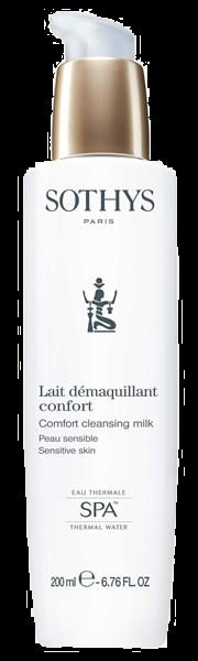 Sothys Молочко Comfort Cleansing Milk Очищающее для Нормальной и Комбинированной Кожи, 200 мл освежающее очищающее молочко при покраснении кожи antirougeurs 200 мл