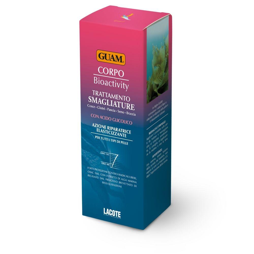 GUAM Крем Corpo от Растяжек Биоактивный с Гликолевой Кислотой, 150 мл