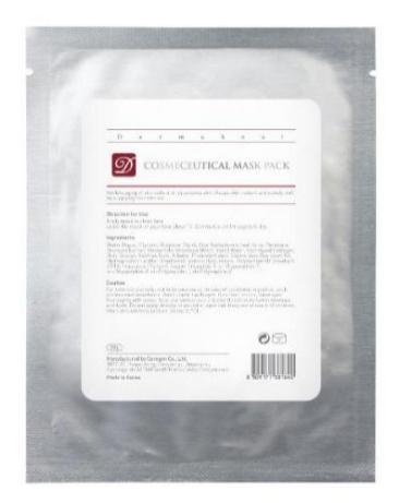 Dermaheal Маска Cosmeceutical Mask Pack Индивидуальная Интенсивная, 22г