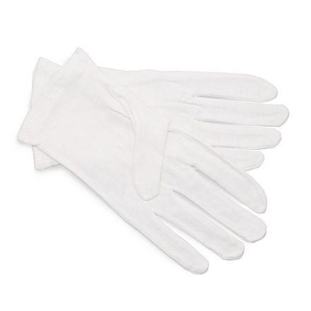 Solomeya Перчатки Cotton Gloves for Cosmetic Use Косметические 100% Хлопок, 1 пара косметические носочки 100% хлопок cosmetic socks