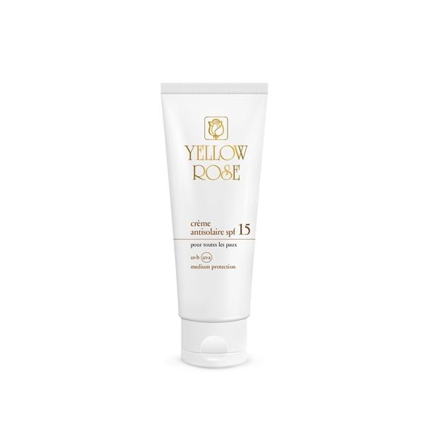 Yellow Rose Крем Crème Antisolaire SPF15 Солнцезащитный Тонирующий, 50 мл