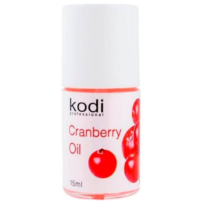 Kodi Professional Масло Cranberry Oil для Кутикулы Лимон, 15 мл