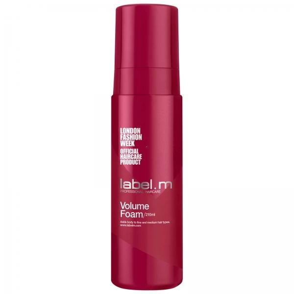 Label.m Пена Create Volume Extra Foam для Объёма, 210 мл шампунь с молочком миндаля для придания объёма тонким волосам 200мл klorane volume plump