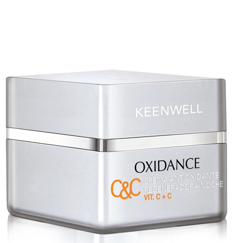 Keenwell Крем Crema Antioxidante Regeneradora Noche Vit. C+C Антиоксидантный Регенерирующий Ночной, 50 мл крем ночной регенерирующий