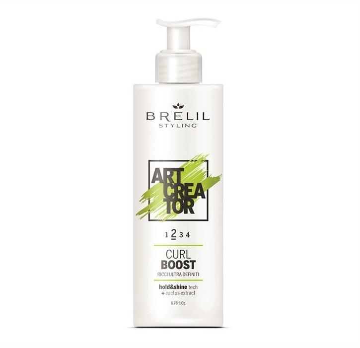 Brelil Professional Крем Curl Boost для Вьющихся Волос, 200 мл professional shine curl от l oreal