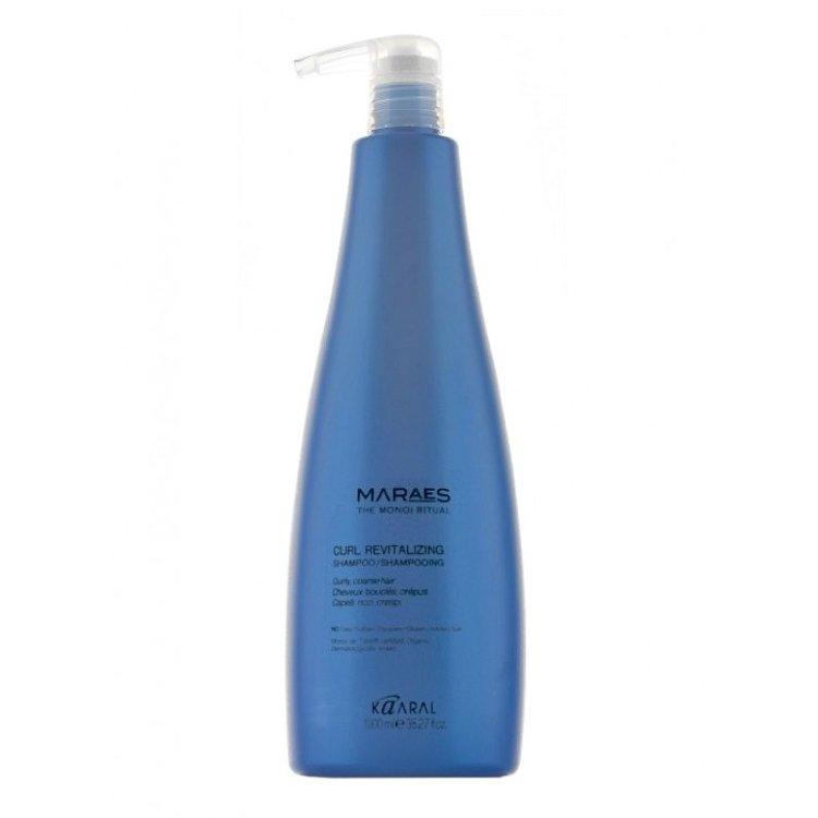 Kaaral Шампунь Curl Revitalizing Shampoo Восстанавливающий для Вьющихся Волос, 1000 мл chi luxury black seed oil curl defining cream gel