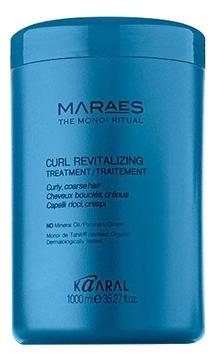 Фото - Kaaral Кондиционер Curl Revitalizing Treatment Восстанавливающий для Вьющихся Волос, 1000 мл kaaral кондиционер для волос 360 be silver 1000 мл