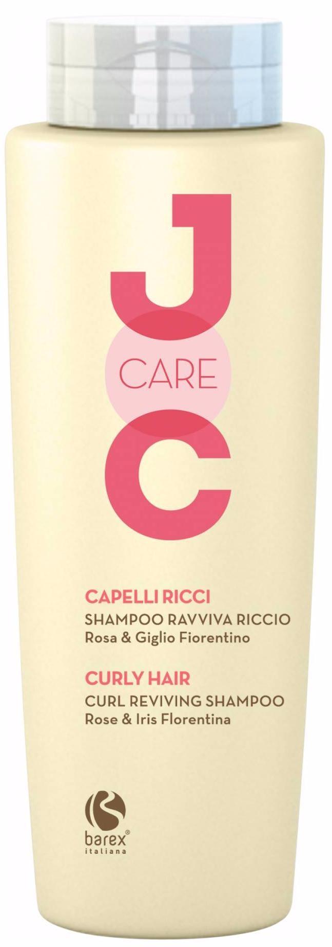 Barex Шампунь Curl Reviving Shampoo Rose & Iris Florentina Идеальные Кудри с Флорентийской лилией , 250 мл